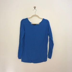 Blue Ann Taylor oversized sweater